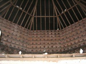 Felbrigg dovecote rafters, click for larger image